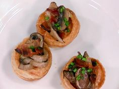 Mini Bacon and Mushroom Pies Recipe from Chef Anne Burrell.