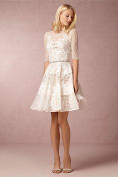 0560196355 Barletta Dress in Bride Wedding Dresses at BHLDN .I think this is so cute  as a casual summer wedding dress or reception dress.