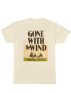 Gone With the Wind men's tee- http://www.outofprintclothing.com/collections/mens-tees/products/gone-with-the-wind-mens-tee