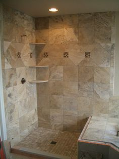 Photo Album Website travertine bathroom Travertine Master Bathroom Tile in Windsor