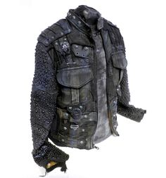 Visions of the Future: Junker Designs Midnight Trencher Jacket Apocalyptic Clothing, Post Apocalyptic Fashion, Kresley Cole, Leather Men, Leather Jacket, Fashion Boots, Mens Fashion, Rocker, Aged To Perfection