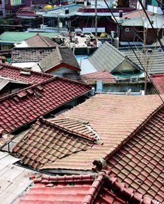 Tile Rooftops, Sanbon, S. Korea