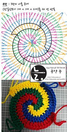Handcrafted Standard Grip Crochet Hook Workstation From Chetnanigans Version Crochet Feather, Spiral Crochet, Crochet Dreamcatcher, Crochet Sunflower, Crochet Mandala Pattern, Granny Square Crochet Pattern, Crochet Diagram, Crochet Stitches Patterns, Freeform Crochet