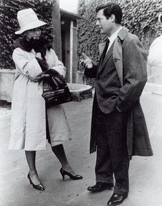 Mastroianni et Sophia Loren
