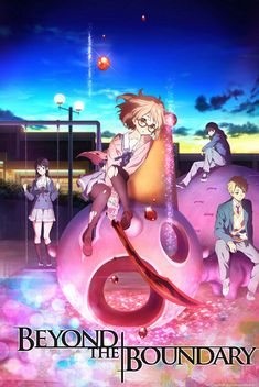Earlier this year, CapsuleComputers reported about Kyoto Animations plans to adapt the popular light novel Kyokai no Kanata (Beyond the Boundary) into an anime. Beyond The Boundary, Anime Manga, Anime Art, Fall Anime, World Of Warriors, Kamigami No Asobi, Anime Recommendations, Kyoto Animation, Light Novel