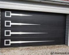 New Garage Door Ideas Mid Century Ideas Steel Gate Design, Front Gate Design, Main Gate Design, House Gate Design, Garage Door Design, Contemporary Garage Doors, Modern Garage Doors, Best Garage Doors, Dream Garage
