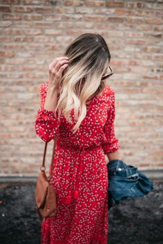 Spring Trends That Won't Break The Bank | my kind of sweet | spring style | casual style | women's fashion | what to wear for spring | spring outfit ideas | floral maxi dress | denim jacket #style #fashion