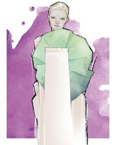 Ilja SS 2016 Couture for Solstice Magazine, Issue 12 Vol.1 by Milan Zejak  #zejak #milanzejak #illustration #fashionillustration #illustrator #fashionillustrator #model #fashionmodel #magazine #fashionmagazine #solsticemagazine #fashion #ilja #iljavisser #iljaamsterdam #iljacouture #pariscouture #couture #assimila #drawing #art #digitalart #wacom #wacombamboo #wacombambootablet #paris #amsterdam #belgrade
