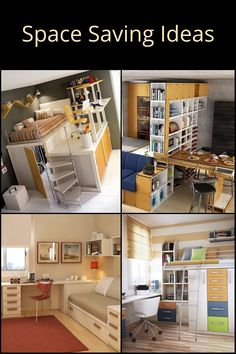 If you live in a tiny inner-city apartment, a granny flat, a small cottage, or a house that has more people than space, it is important to use the space as efficiently as possible. In this article, we feature a gallery of ideas that prove that with proper design, a home short on floor area can still be big on space. Small Cottages, Granny Flat, Saving Ideas, Floor Space, Space Saving, Flooring, Live, Gallery, People