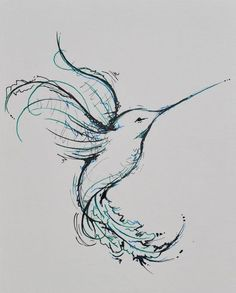 hummingbird tattoo designs | View More Tattoo Images Under: Hummingbird Tattoos