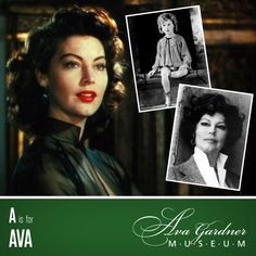 Museum Alphabet: The Ava Gardner Museum From A to Z|Ava Gardner BLOG