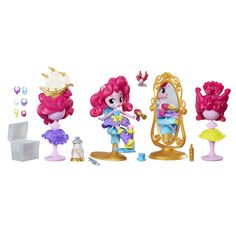 For sale online My Little Pony Equestria Girls Minis Pinkie Pie Switch-a-Do Salon Set for Christmas Gifts Idea Shopping Online My Little Pony Dolls, All My Little Pony, My Little Pony Pictures, My Little Pony Friendship, Little Ones, Equestria Girls Minis, My Little Pony Equestria, Pinkie Pie, Unicorn Birthday Parties