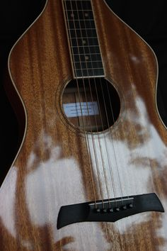 Weissenborn (2016) By Julien Lelievre Lutherie (french polish finish // All solid mahogany with ebony bridge and fingerboard))
