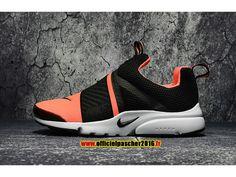 2017 Nike Air Presto Extrem Chaussures Nike Officiel Pas Cher Pour Femme  Noir / Orange