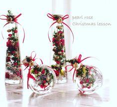今年最後のクリスマスツリーハーバリウムレッスン🌲 何回も登場してゴメンなさい🙏 本当に可愛い❤️ねぇと喜んで下さいました‼️ミニ瓶は、バランスが難しいので悪戦苦闘ではありましたが、写真のように綺麗にツリーが立ちましたよ❤️… Pearl Rose, Flower Crafts, Table Decorations, Bottle, Interior, Flowers, Christmas, Makeup Products, Instagram