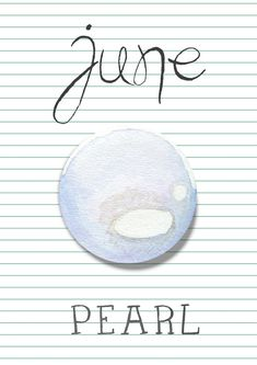 June Pearl Monthly Journal: birthstone, flower of the month - journal for the month of June. Perfect for June birthday babies October Birthstone Meaning, Angel Guidance, Cute Wallpaper For Phone, Crystal Meanings, June Birth Stone, Journal Covers, Cute Wallpapers, Birthstones, Decir No