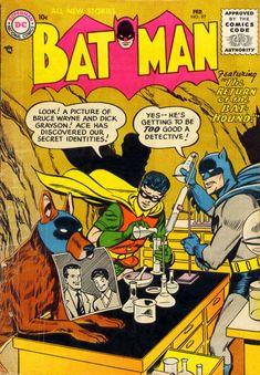 Batman 97 - Great kitsch cover - Joker Story