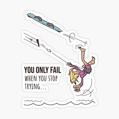 Kitesurfing, Car Stickers, Fails, Art Prints, Printed, Awesome, Funny, T Shirt, Fictional Characters