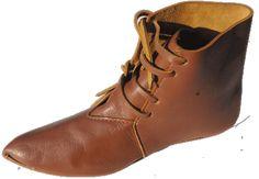 14th century shoes @ revival enterprises