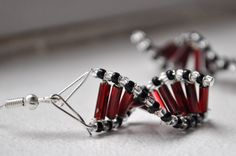 DNA Earrings....cute gift for the biology teacher in your life!