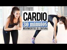 Reducir cintura con cardio 30' | Intensidad moderada - YouTube