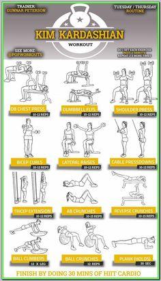 Best workout plan to lose weight gym weight workout plan men gy Routine Abdo, Ab Routine, Gym Routine Women, Exercise Routines, Work Out Routines Gym, Kim Kardashian Workout, Khloe Kardashian Diet Plan, Best Workout Plan, Post Workout