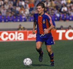 Michael Laudrup, former attacking midfielder FC Barcelona