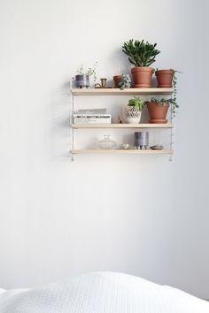 dream home | shelving + storage | plants + pretty things