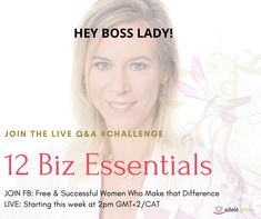 This is how I am helping influencers to make money from their own businesses as women who bring their gifts to the world:    I understand how hard it is to blog, create podcasts, coach and do some form of healing to make the world a better place while you struggle to make a living doing it. It can be a problem to convert your work into money and still juggle time and resources.  I want to give you the step by step guidelines that helped me to understand why I must put myself first.   And, I… Successful Women, You Working, Help Me, Boss Lady, Things I Want, How To Make Money, Bring It On, Challenges, Healing