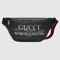 4392feefb5c Gucci Coco Capitán logo belt bag Travel Bags
