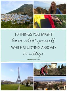 10 Things You'll Learn About Yourself While Studying Abroad in College