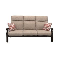 Alcott Hill Hamer Patio Sofa With Cushions