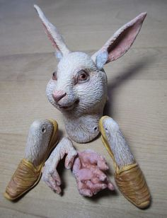 Custom Rabbit Anthro Art Doll Parts Bodkin Pattern A D by doters on Etsy
