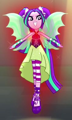 pictures of mlp aria blaze | Aria Blaze's human form in My Little Pony Equestria Girls: Rainbow ...