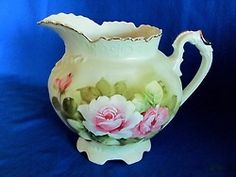 Nippon Green Heritage Pattern Water Pitcher