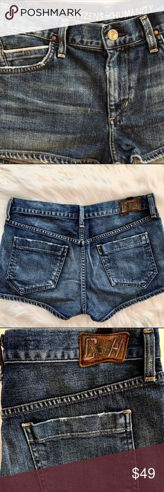 """CITIZENS OF HUMANITY C of H Jeans Shorts. Size 27 Citizens of Humanity jeans shorts. Cut# 30520 Style# 973-365. 98% cotton 2% polyurethane. Size 27. Rise 9"""". EUC. Citizens of Humanity Shorts Jean Shorts"""