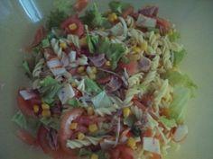 salade pate et fruits de mer