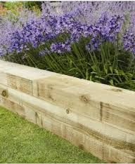 Image result for lavender raised bed sleeper