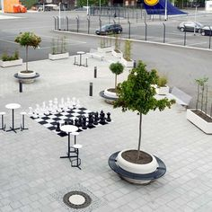 Lufthansa Airport in Frankfurt - new outdoor lounge by Outdoor Lounge, Outdoor Decor, Flower Boxes, Flowers, Indoor Planters, Street Furniture, Garden Trees, Street Photography, Beautiful Homes