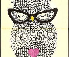 nerdy owl !