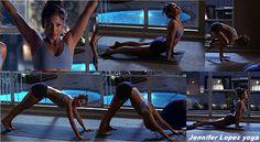 Jennifer Lopez et Yoga #jlo