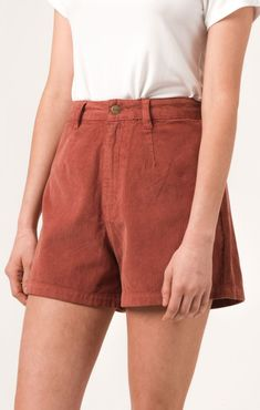 Afends Seventies - Corduroy Shorts