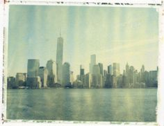 Freedom Tower - Polaroid Transfer (8x10) - $75.00 via Etsy