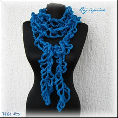 crochet scarf, 2014 color of the year