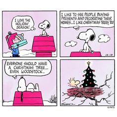 Snoopy & Woodstock at Christmas. Snoopy Comics, Happy Comics, Snoopy Cartoon, Peanuts Cartoon, Bd Comics, Peanuts Snoopy, Peanuts Comics, Christmas Comics, Peanuts Christmas