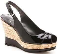 Stuart Weitzman wedges - comfortable and fashionable. Finally found the shoes I really want, so me!!