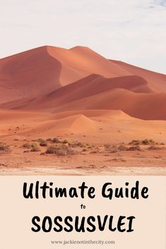 Everything you need to know about visiting the iconic Sossusvlei in Namibia. What do to, where to stay, what to wear and more. #sossusvlei #namibia #camping #dunes #africa Before Sunrise, The Dunes, Campsite, Us Travel, Safari, African, Posts, City, Blog