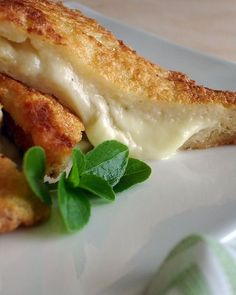 mozzarella in carozza....easy and soooo much better than frozen mozzarella sticks!