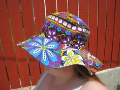 Perfectly Vintage Sunhats - CLOTHING  http://www.craftster.org/forum/index.php?topic=313847.0_medium=Email_source=ExactTarget_campaign=#axzz2Uj2bjEGM