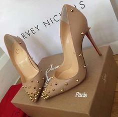 Women's Christian Louboutin sale now on at Farfetch. Shop Christian Louboutin fashion & accessories with amazing discounts. Louboutin Pumps, Christian Louboutin Shoes, Heeled Boots, Shoe Boots, Shoes Heels, Nude Heels, Shoes Sneakers, Cute Shoes, Me Too Shoes
